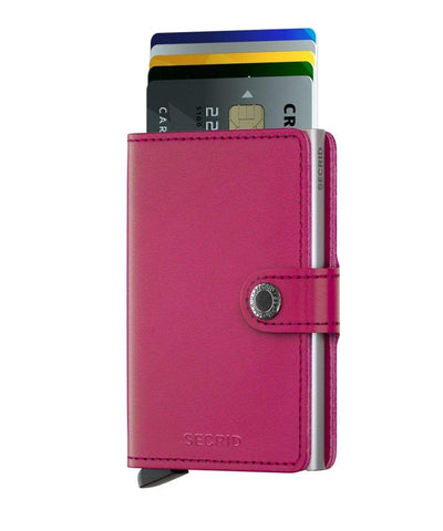 Original Fuchsia Secrid Original Mini Wallet