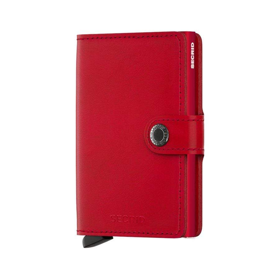 Original Red Secrid Original Mini Wallet