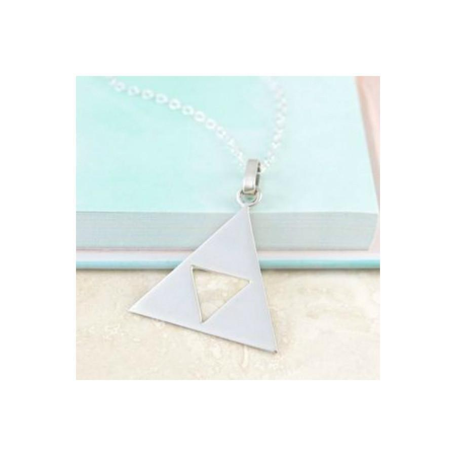 Otis Jaxon Triangle Cut-Out Necklace