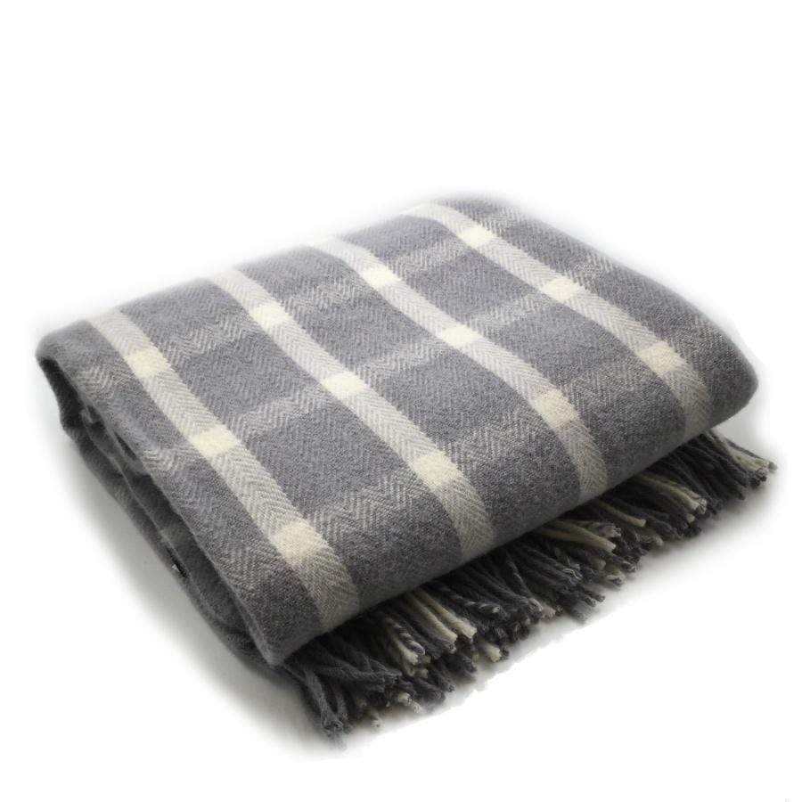 Palliser Ridge Throw- Check Herringbone-Napa