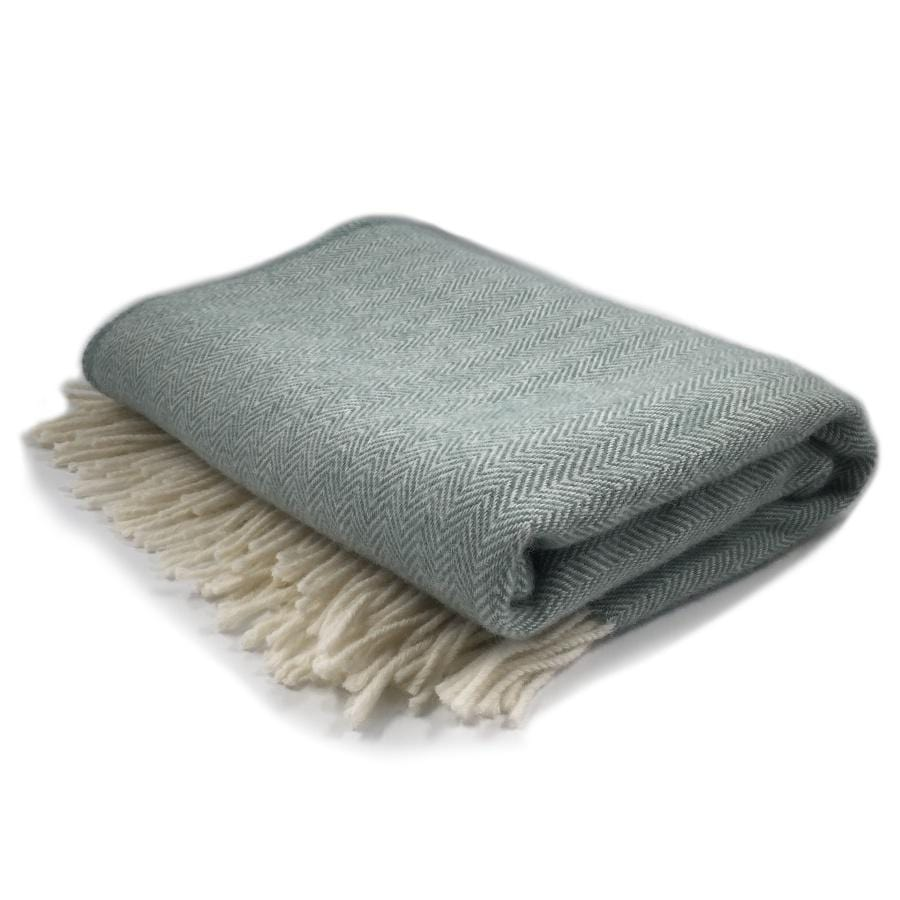 Palliser Ridge Throw | Plain Herringbone /Seagrass