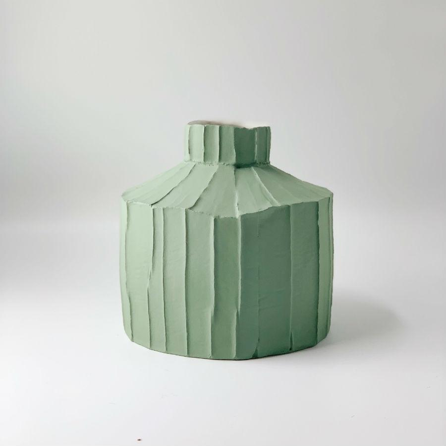 Paola Paronetto Wide Vase Medium Sage