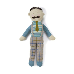 Papa Knitted Doll