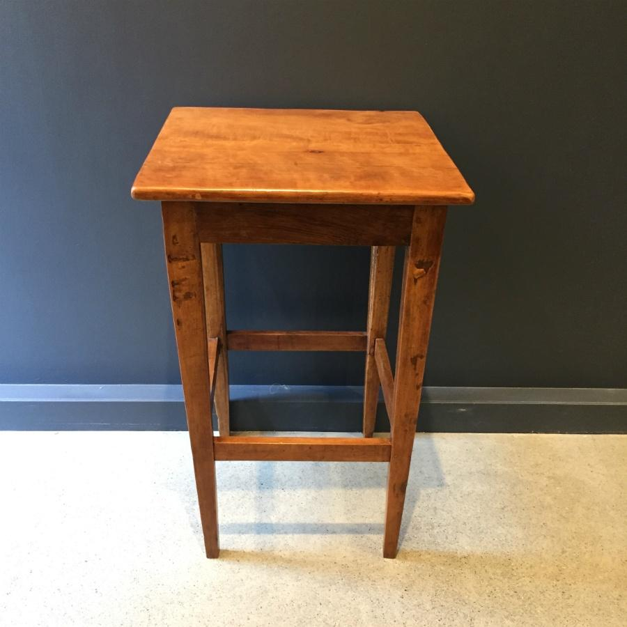 Pearwood French Antique Lamp Table - c1850