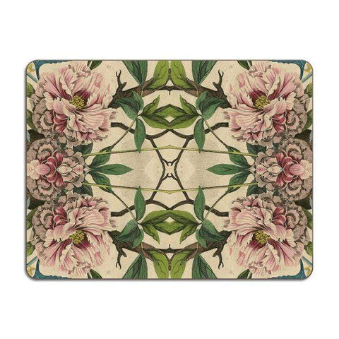 Peonies Large Table Mat - UK