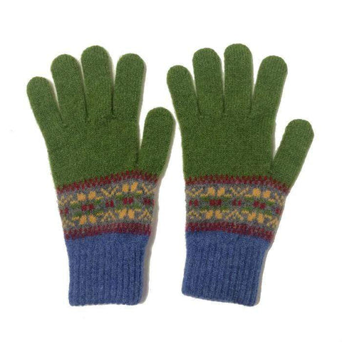 Pewter/grass Islay gloves