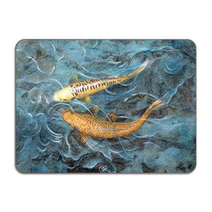 Placemat Pair of Koi Fish - UK