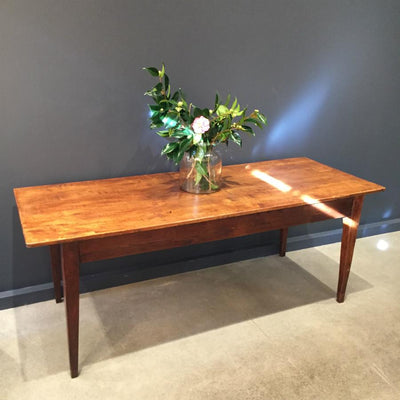 Poplar Dining Table French Antique c1860 | Cranfields Wellington NZ