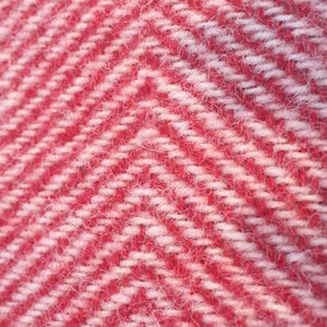 Raspberry Mt Somers Lambswool  Throw