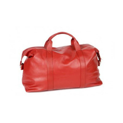 Red Weekender Travel Bag