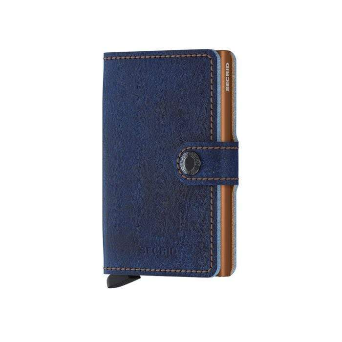 Secrid Denim Look Leather Mini Wallet