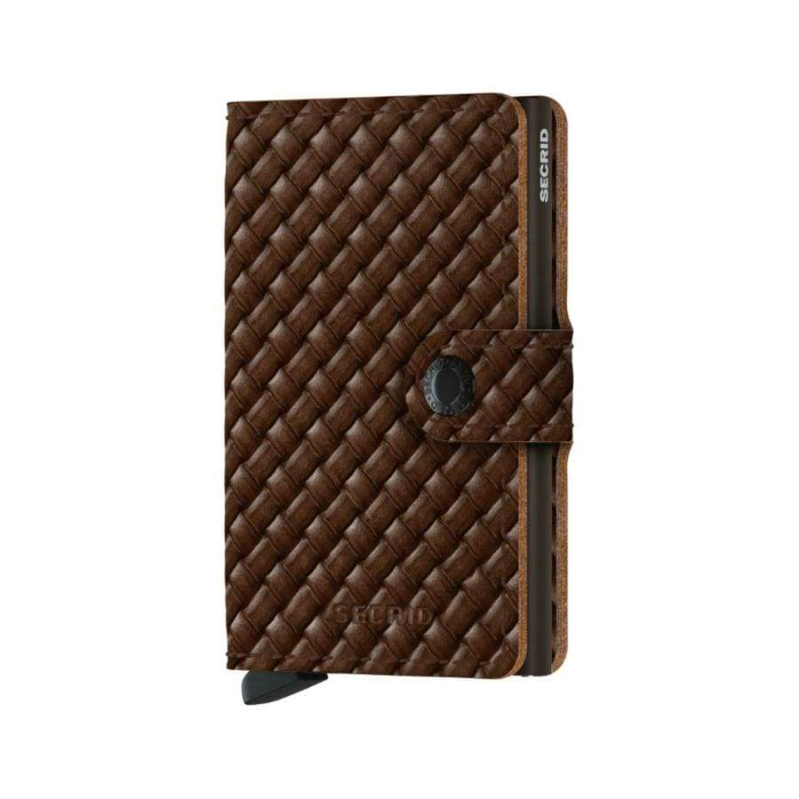 Secrid Mini Wallet - Basket Brown