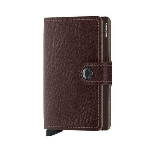 Secrid Mini Wallet Veg Tanned | Espresso