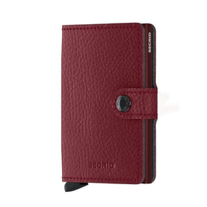Secrid Mini Wallet Veg Tanned | Rosso
