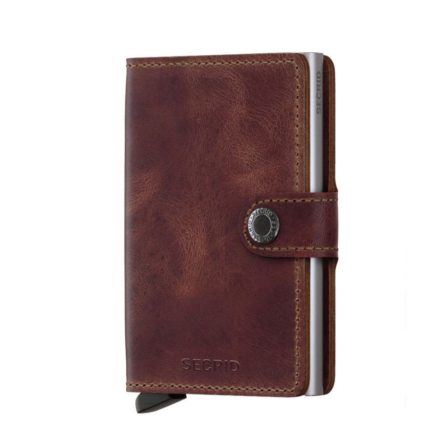 Secrid Mini Wallet | Vintage Brown