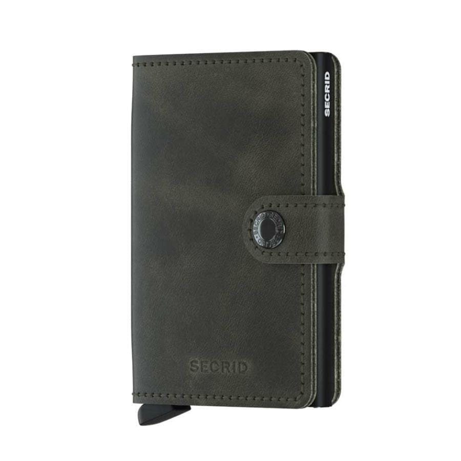 Secrid Mini Wallet | Vintage Olive