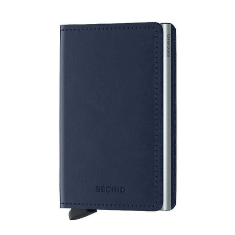 Secrid Original Slim Wallet - Navy