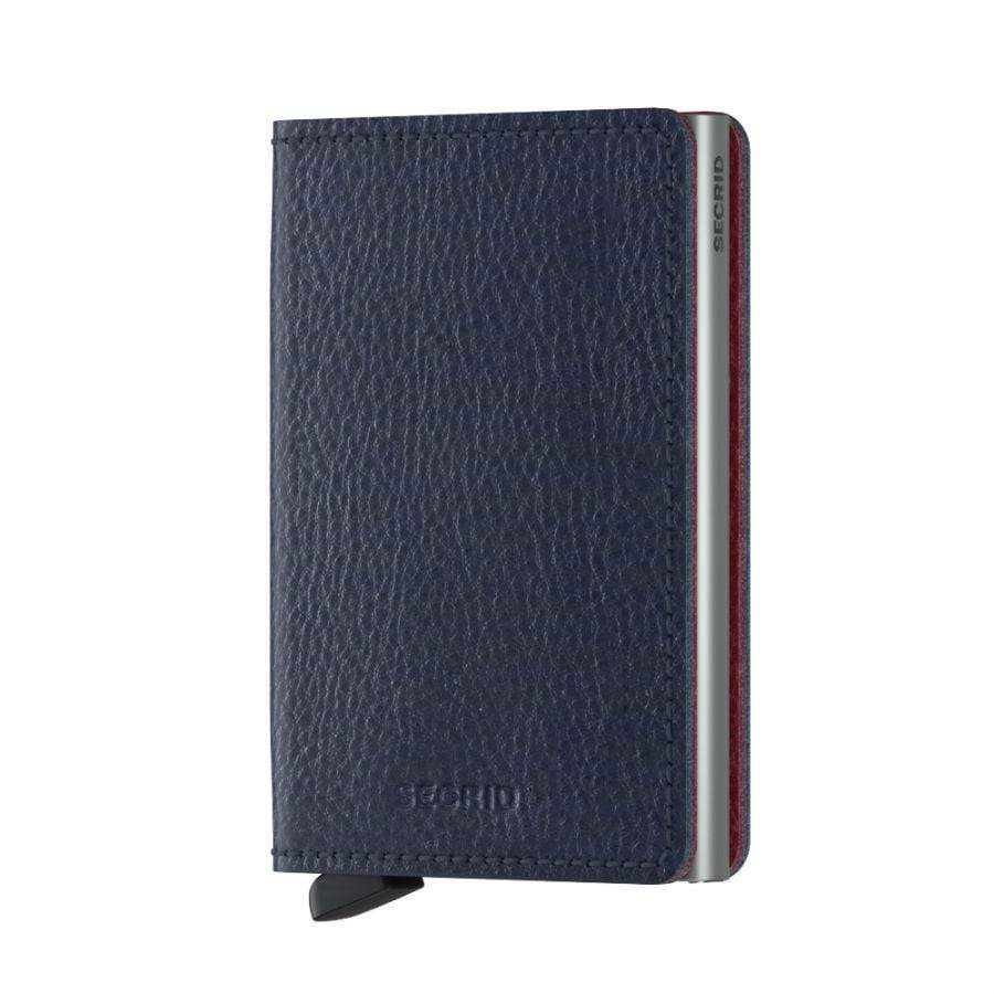 Secrid Slim Wallet Veg Tanned |  Navy