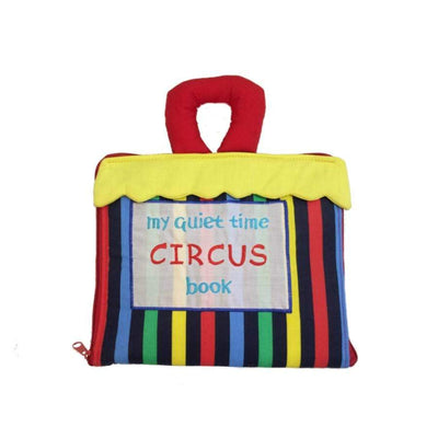 Soft Book - Circus Quiet time