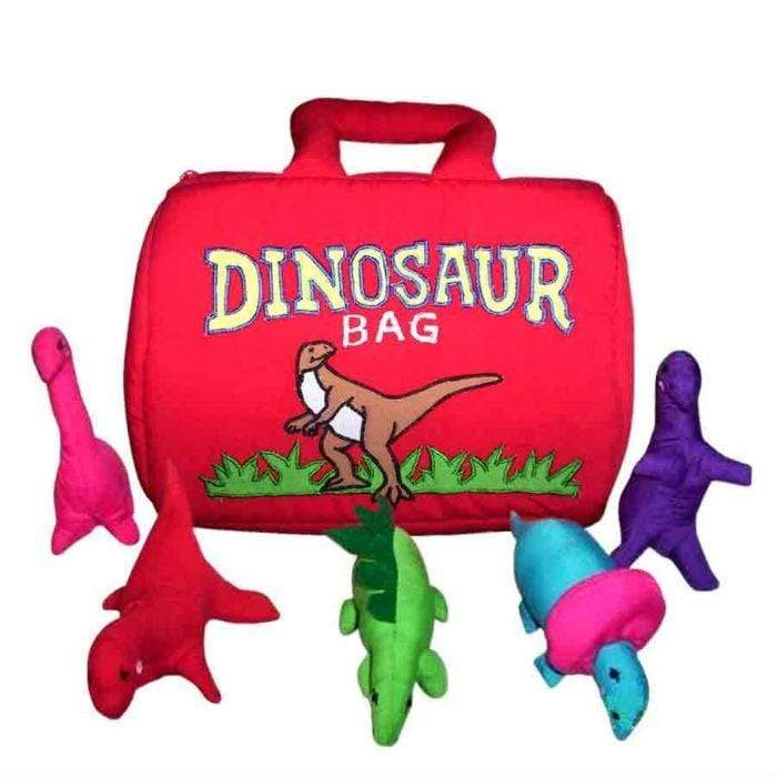 Soft Cloth Bag - Dinosaur Bag