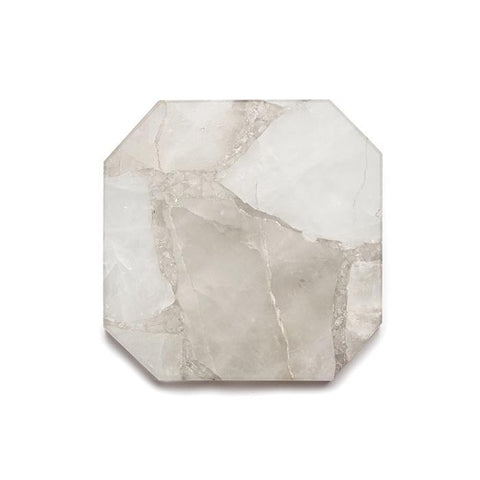 Square Clear Quartz Platter