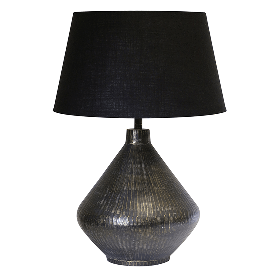 Tapered Pyramid Lamp and Shade