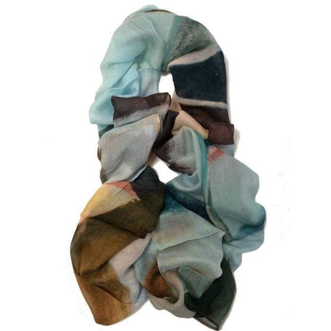 The Artist Label Scarf - Like the River