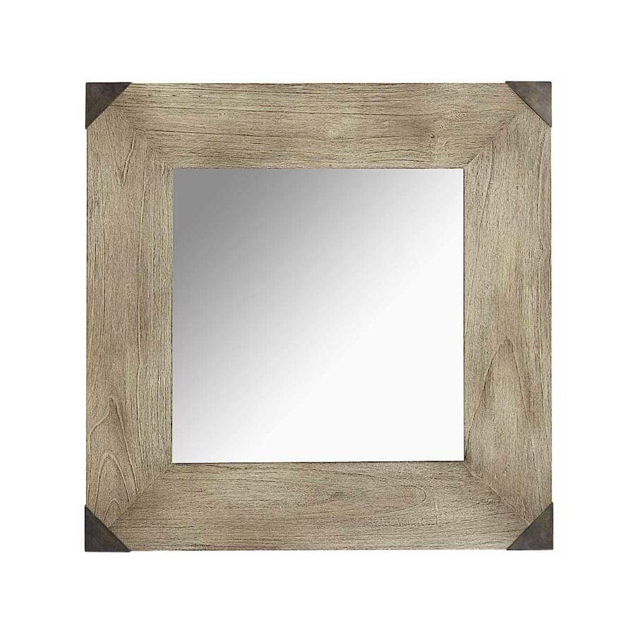 Timber Square Mirror