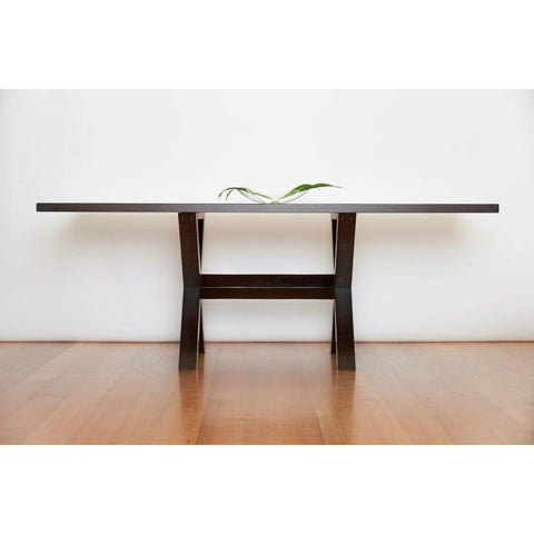 Trestle Dining Table in Oak