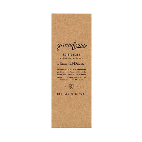 Triumph and Disaster - Gameface Moisturiser Tube - EU
