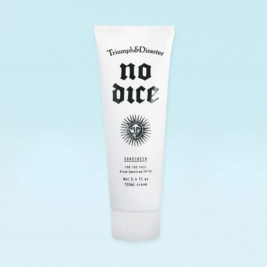 Triumph and Disaster - No Dice Sunscreen