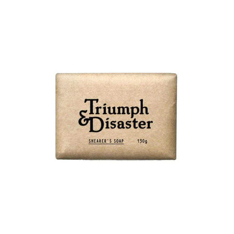 Triumph and Disaster - Shearers Soap