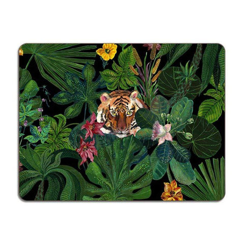Tropical Tiger Large Table Mat - UK