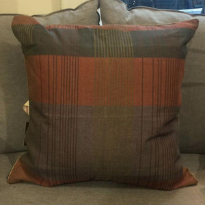 Warm Tartan Cushion
