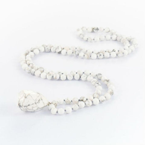White Karla Necklace