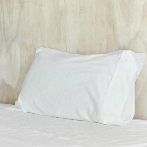 White Organic Bamboo Pillowslip