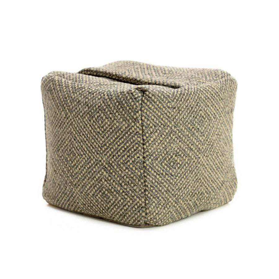 Wool Door Stop | Silver & Grey