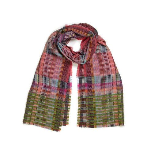 Wool/Mohair- Lore Wrap- Rose
