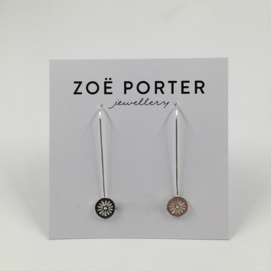 Zoe Porter Daisy drop Earrings
