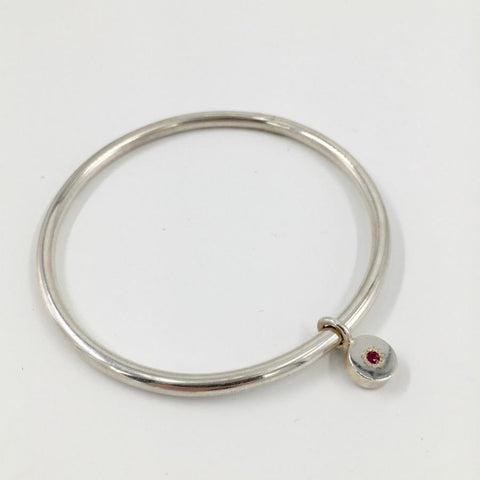 Zoe Porter Ruby Orbit Bangle