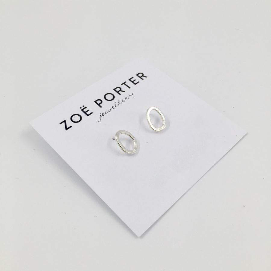 Zoe Porter Small Puddle Stud Earrings