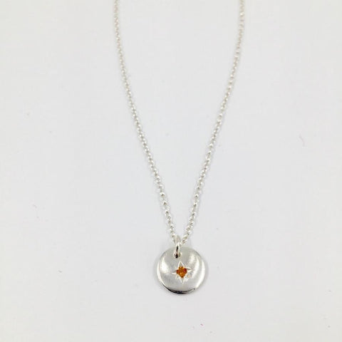 Zoe Porter Starry Night Necklace - Citrine