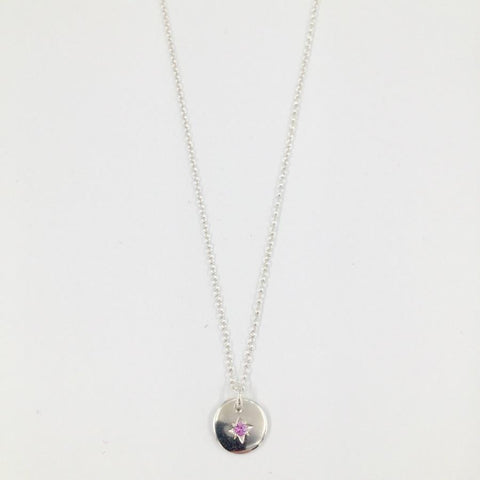 Zoe Porter Starry Night Necklace - Pink Tourmaline