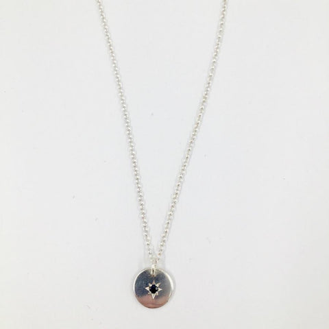 Zoe Porter Starry Night Necklace / Sapphire
