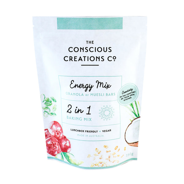 Energy 2 in 1 Baking Mix | The Conscious Creations Co.