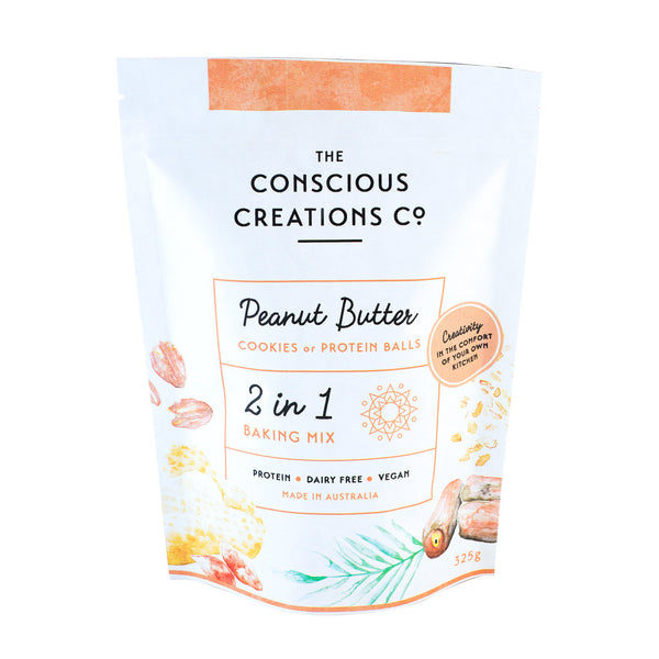 Peanut Butter 2 in 1 Baking Mix | The Conscious Creations Co.