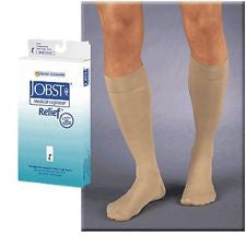 JOBST, RELIEF 20-30MMHG,  KNEE HIGH CLOSE TOE