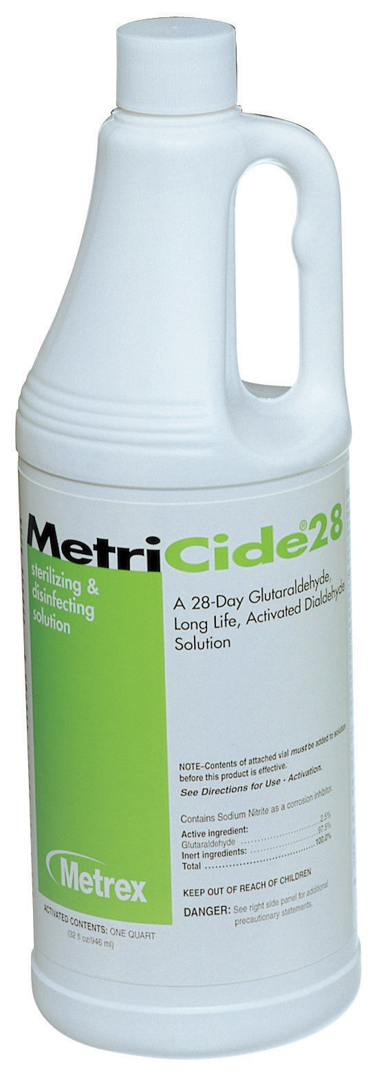 28054100 Instrument Disinfectant / Sterilizer MetriCide®28 Liquid 1 Quart