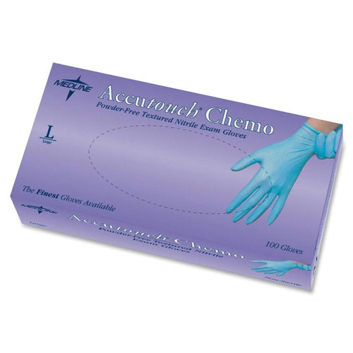 MDS192086 Accutouch Chemo Nitrile Exam Gloves GLOVE