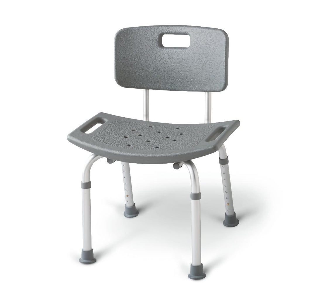 Aluminum Bath Benches with Back - MDS89745R